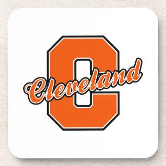 Cleveland Letter Drink Coaster