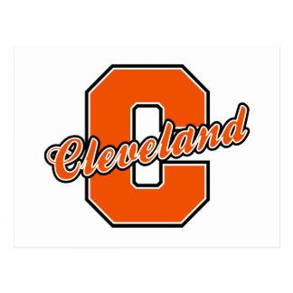 Cleveland Letter Postcard