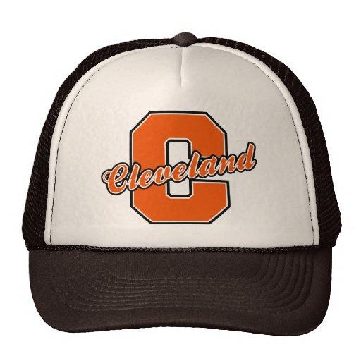 Cleveland Letter Trucker Hat