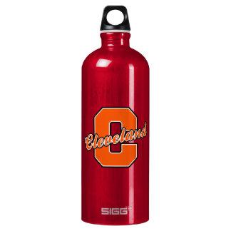 Cleveland Letter Water Bottle