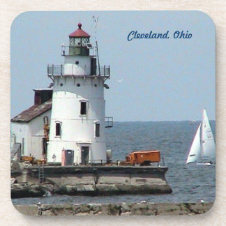 Cleveland Lighthouse Drink Coasters