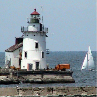 Cleveland Lighthouse - Summer Photo Cut Out