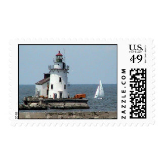 Cleveland Lighthouse summer Stamps