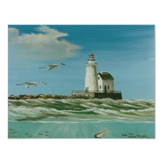 Cleveland Main Lighthouse 1998 Custom Announcement
