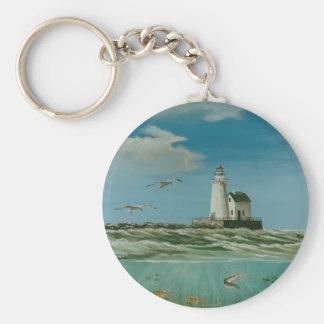 Cleveland Main Lighthouse 1998 Keychain