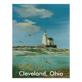 Cleveland Main Lighthouse 1998 Letterhead