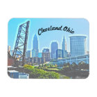 Cleveland Morning (Curved Text) Magnet