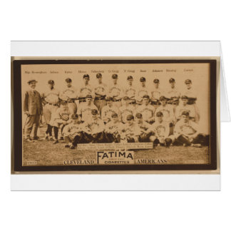 Cleveland Naps 1913 Card
