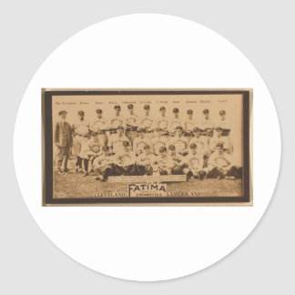 Cleveland Naps 1913 Classic Round Sticker