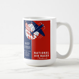 Cleveland Nation Air Races Coffee Mug