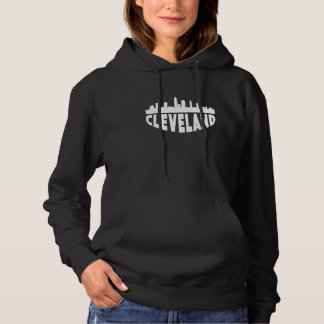 Cleveland OH Cityscape Skyline Hoodie