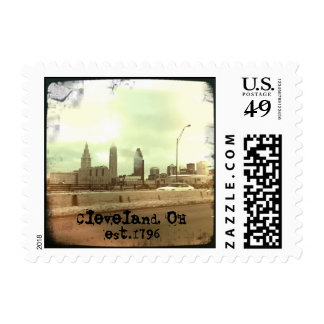 """Cleveland, OH - est.1796"" Postage"
