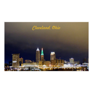 Cleveland, OH millón de posters 11/24/12 de la opi