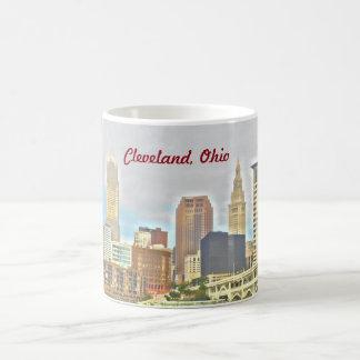 Cleveland OH Riverside View Mug