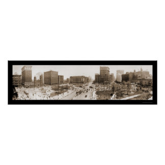 Cleveland, OH Square Photo 1912 Poster