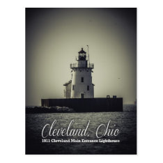 Cleveland, Ohio - 1911 Main Entrance Lighthouse Postcard at Zazzle