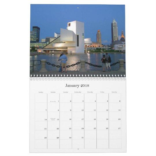 Cleveland Ohio 2012 Calendar
