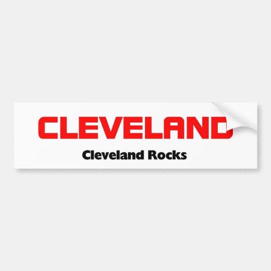 Cleveland ohio bumper sticker