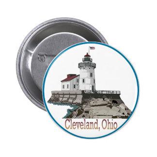Cleveland Ohio Button
