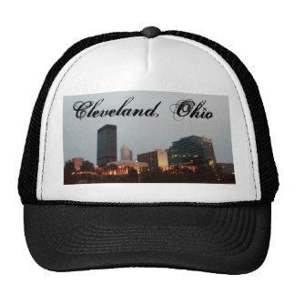 CLEVELAND, OHIO cap Trucker Hat
