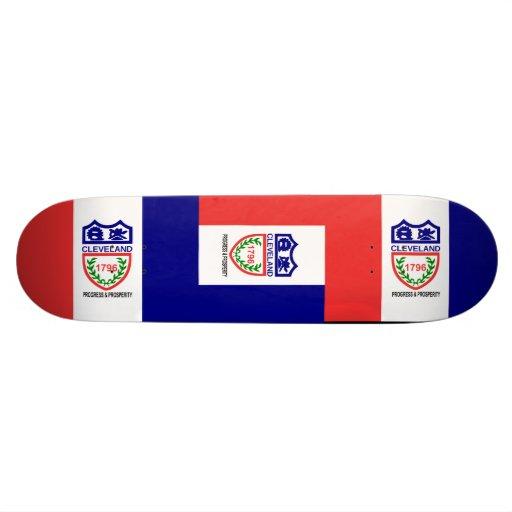 Cleveland, Ohio Custom Skateboard