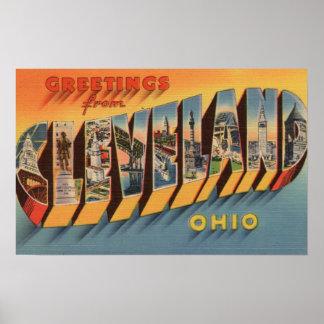 Cleveland, Ohio - escenas grandes 2 de la letra Póster