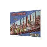 Cleveland, Ohio - escenas grandes 3 de la letra Impresiones En Lona