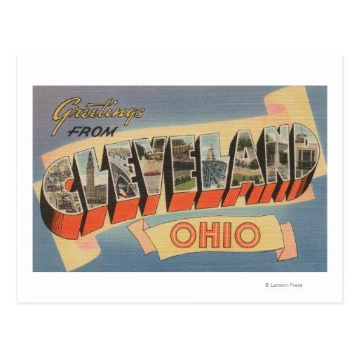 Cleveland, Ohio - escenas grandes de la letra Postales