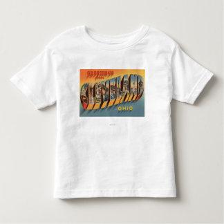 Cleveland, Ohio - Large Letter Scenes 2 T Shirt