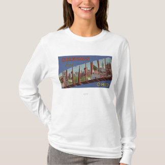 Cleveland, Ohio - Large Letter Scenes 3 T-Shirt