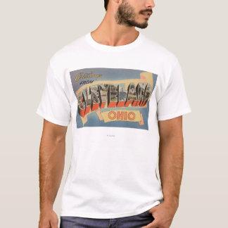 Cleveland, Ohio - Large Letter Scenes T-Shirt