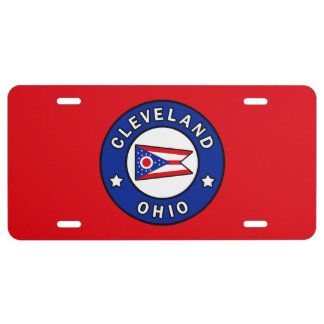 Cleveland Ohio License Plate