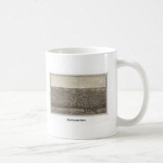 Cleveland, Ohio map Coffee Mug