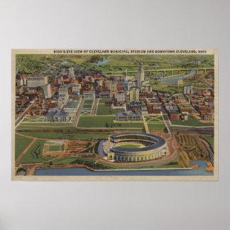 Cleveland, Ohio - Municipal Poster