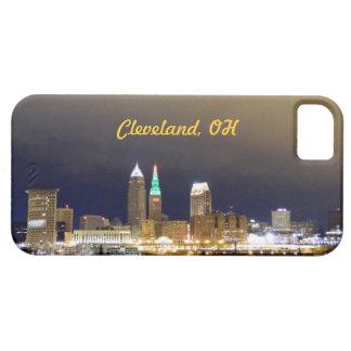Cleveland, Ohio Night Skyline (Holiday) iPhone 5 Covers