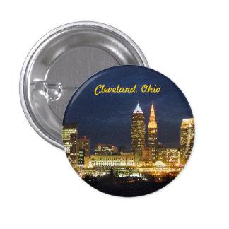 """Cleveland, Ohio """"noche enciende"""" el botón"""