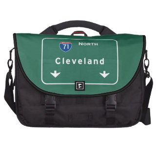 Cleveland Ohio oh Interstate Highway Freeway : Bags For Laptop