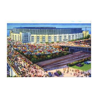 Cleveland Ohio Old Municipal Stadium Canvas Print