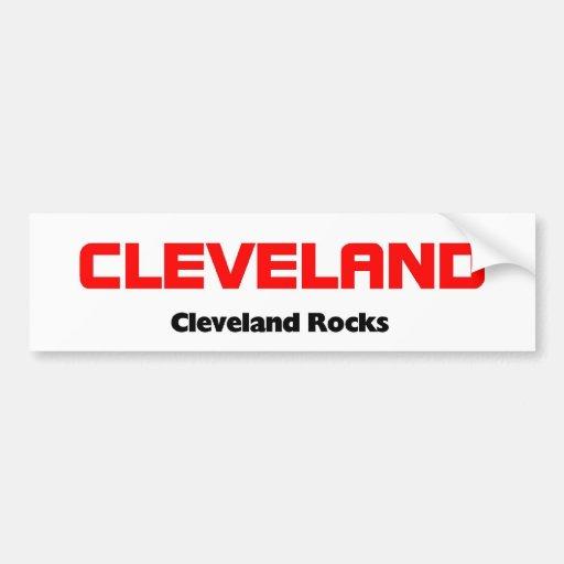 Cleveland, Ohio Pegatina Para Auto