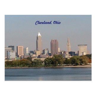 Cleveland Ohio, postal de la orilla del lago