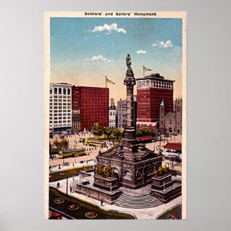 Cleveland, Ohio Poster