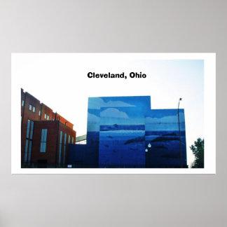 CLEVELAND,OHIO poster