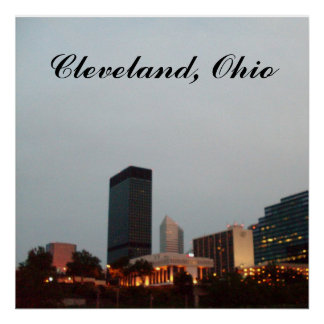 CLEVELAND, OHIO,poster Poster