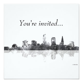 CLEVELAND, OHIO SKYLINE CARD