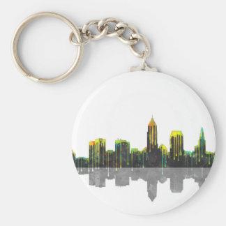 Cleveland Ohio Skyline Keychain