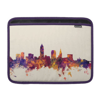 Cleveland Ohio Skyline MacBook Air Sleeve