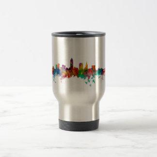 Cleveland Ohio Skyline 15 Oz Stainless Steel Travel Mug