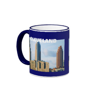 CLEVELAND, OHIO SKYLINE mug
