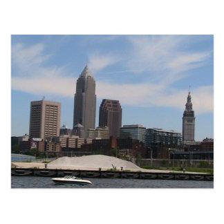 Cleveland Ohio Skyline Postcards
