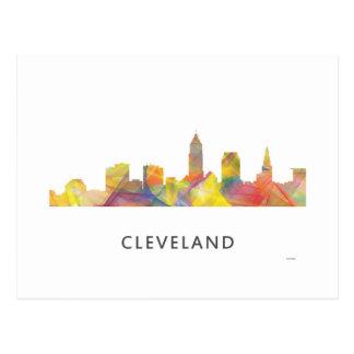 CLEVELAND, OHIO SKYLINE WB1 - POSTCARD